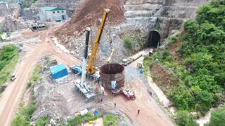 Steel Penstock transportation at Nam Theun 1 Hydropower Project