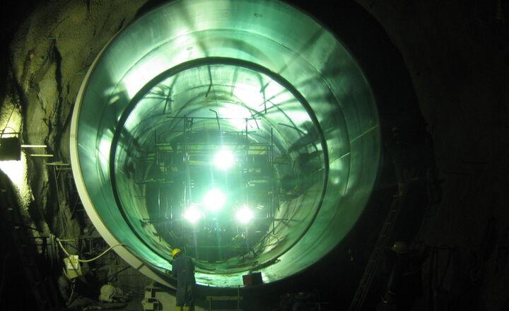 Sogamoso Hydroelectric Project - Colombia montaggio delle condotte -