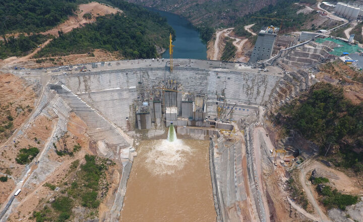 Hydromechanical equipment for Nam Theun 1 Hydro Power Project (Laos) -