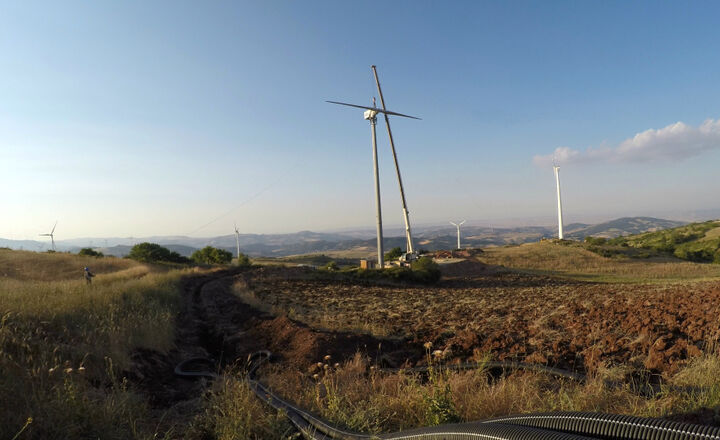 ATB 60.28 DD Mini Wind Turbine 60 kW in Sicily - ATB 100.28 DD