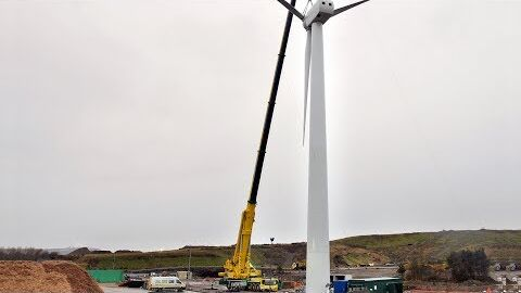 ATB 500.54 Wind Turbine Installation in United Kingdom